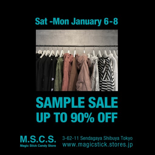 SAMPLE SALE FLYER